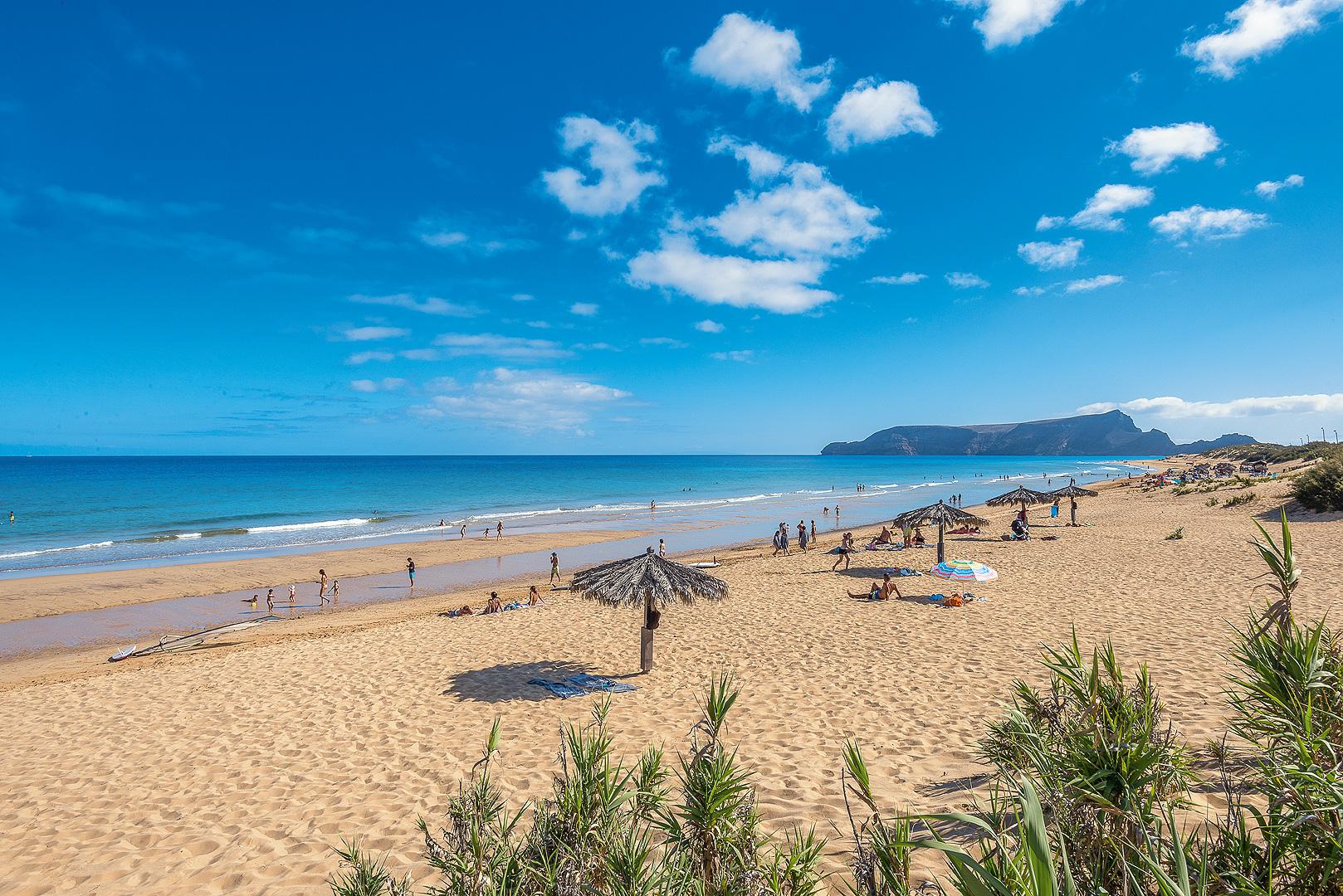 Badeurlaub am Strand von Porto Santo