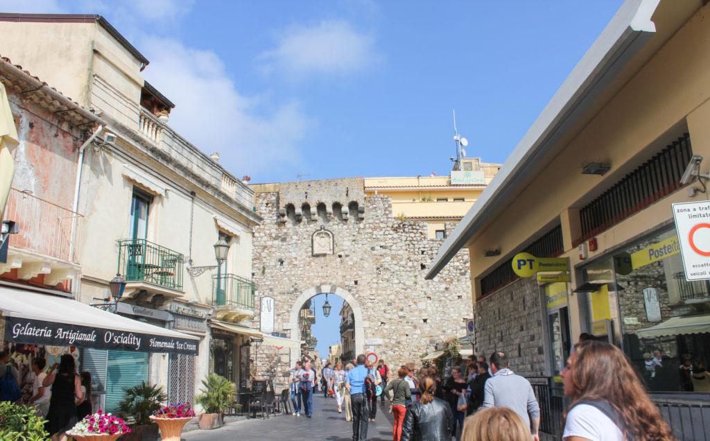 Porta Catania in Taormina