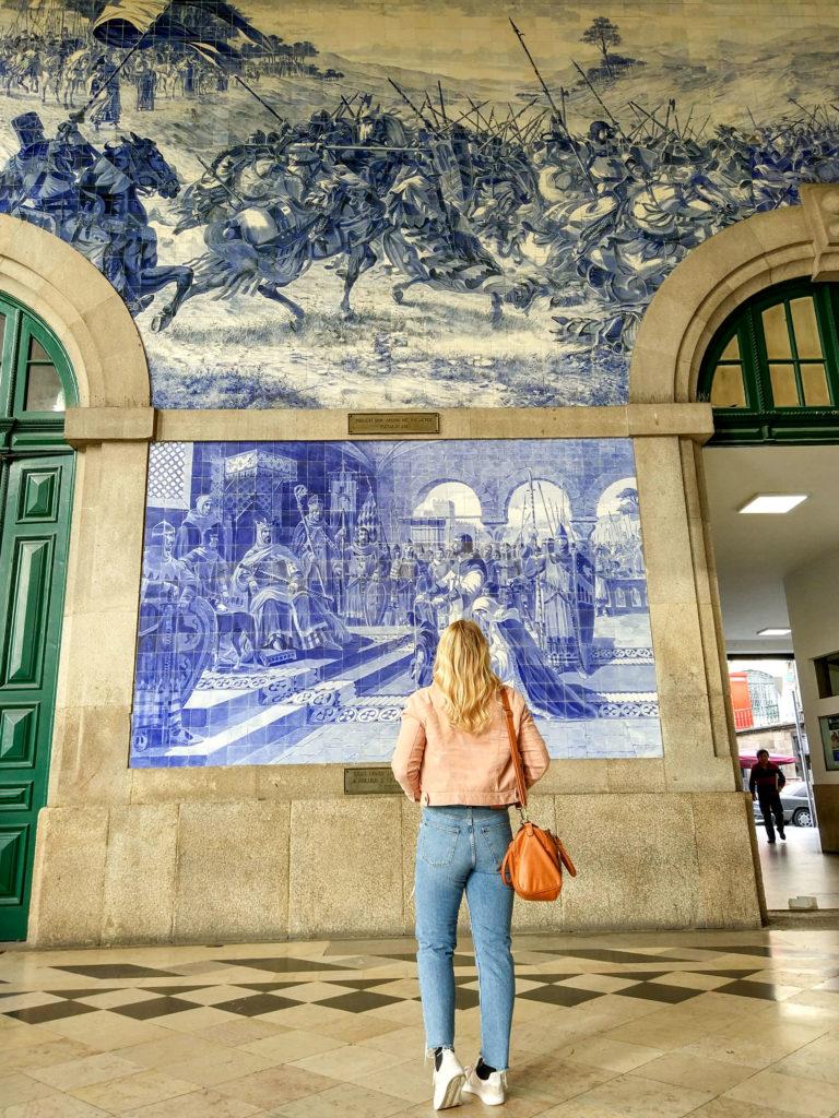 In Portos Bahnhof São Bento