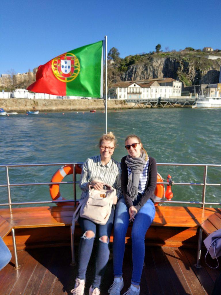 Auf der Fähre über den Douro