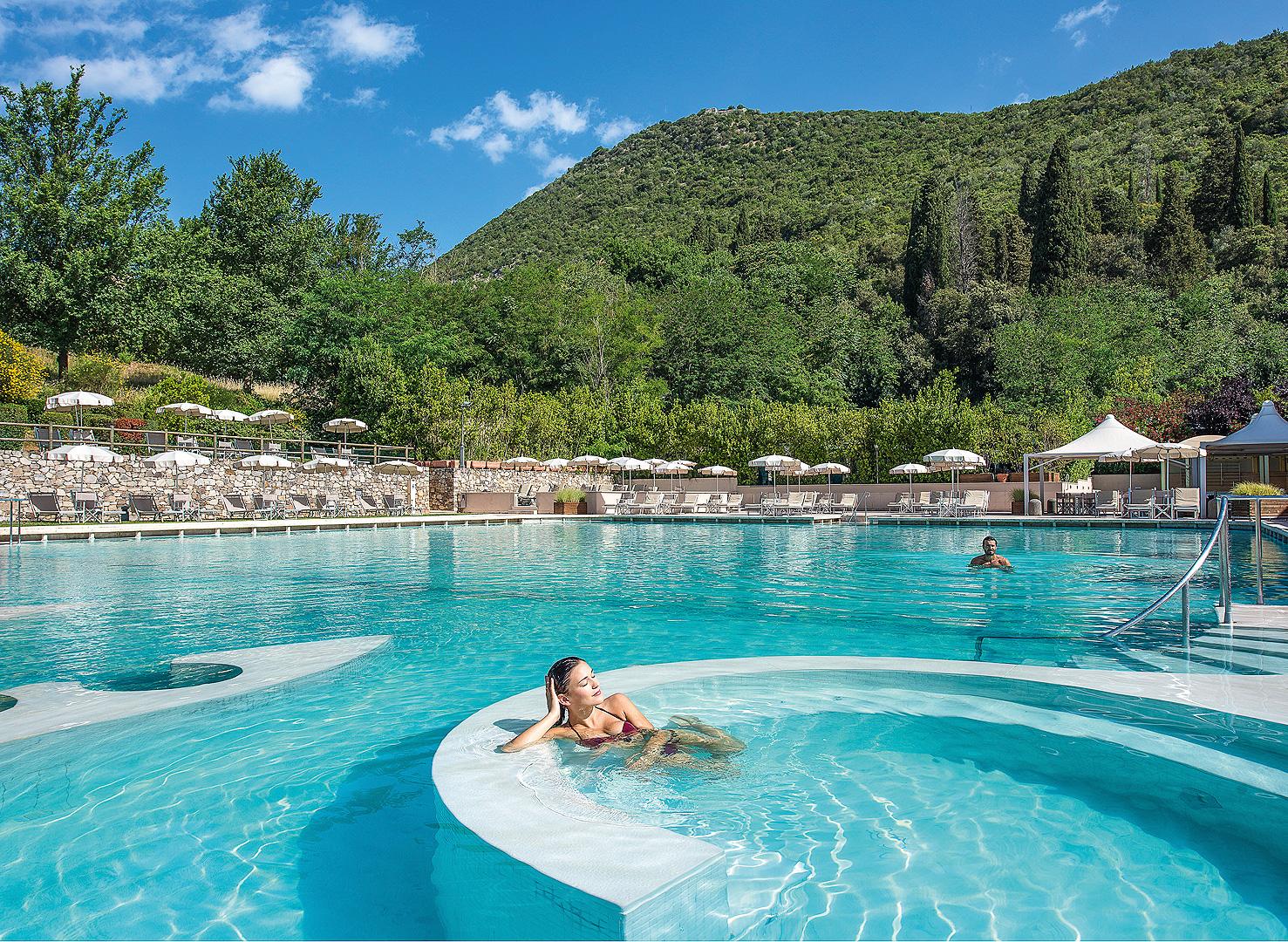 Hotelpool Grotta Giusti Toskana