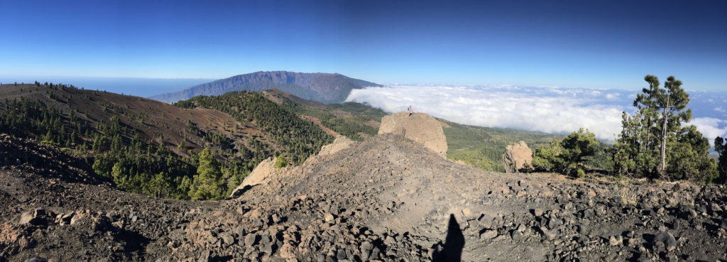 Ausblick Pico Nambroque La Palma