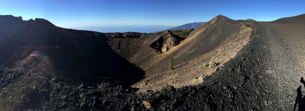 Kraterrand La Palma Panorama