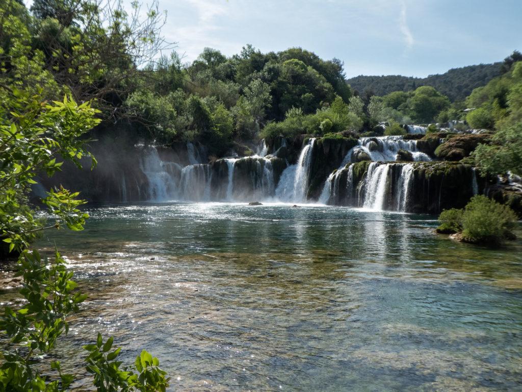 Kaskaden Krka Nationalpark