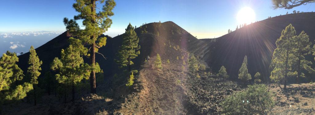 Ausblicke Vulkane Wanderung La Palma