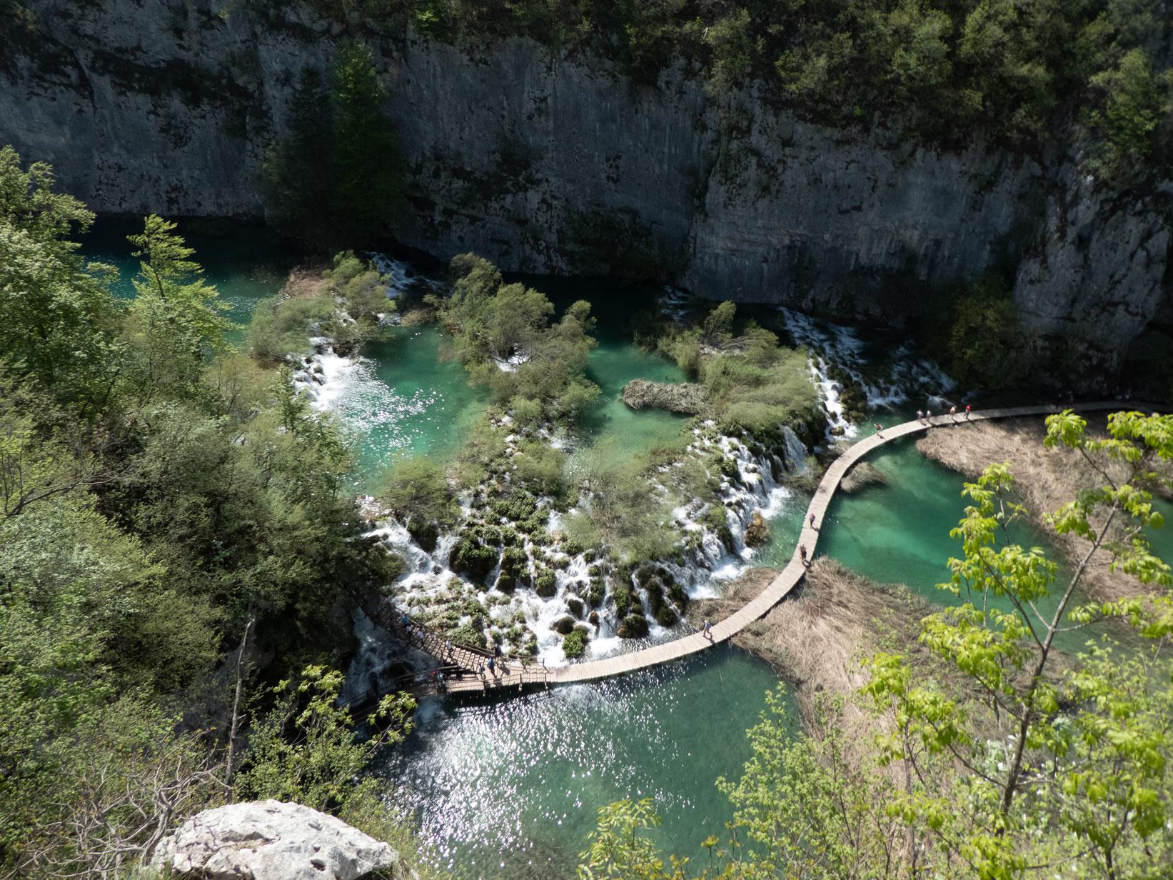 Aussichtspunkt Plitvicer Seen
