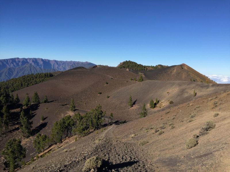 Vulkanroute La Palma Ausblick Wanderweg