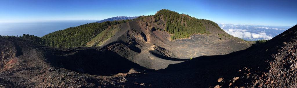 Panorama Vulkane La Palma
