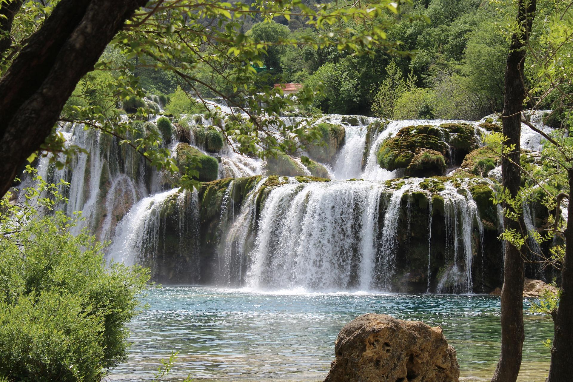 Krka Nationalpark Wasserfall