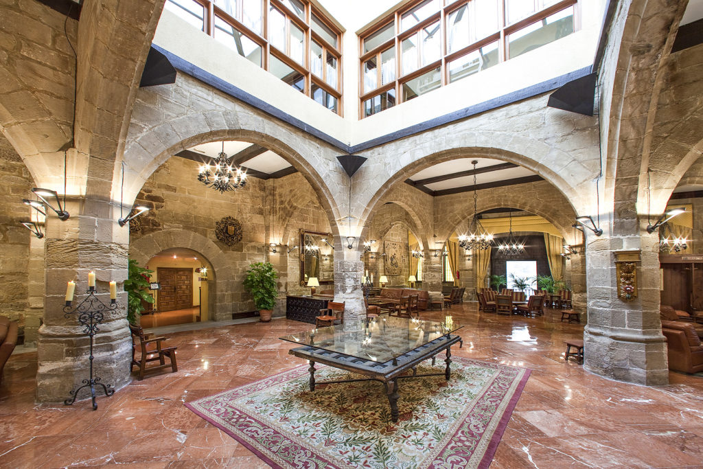 Lobby Parador Santo Domingo de la Calzada