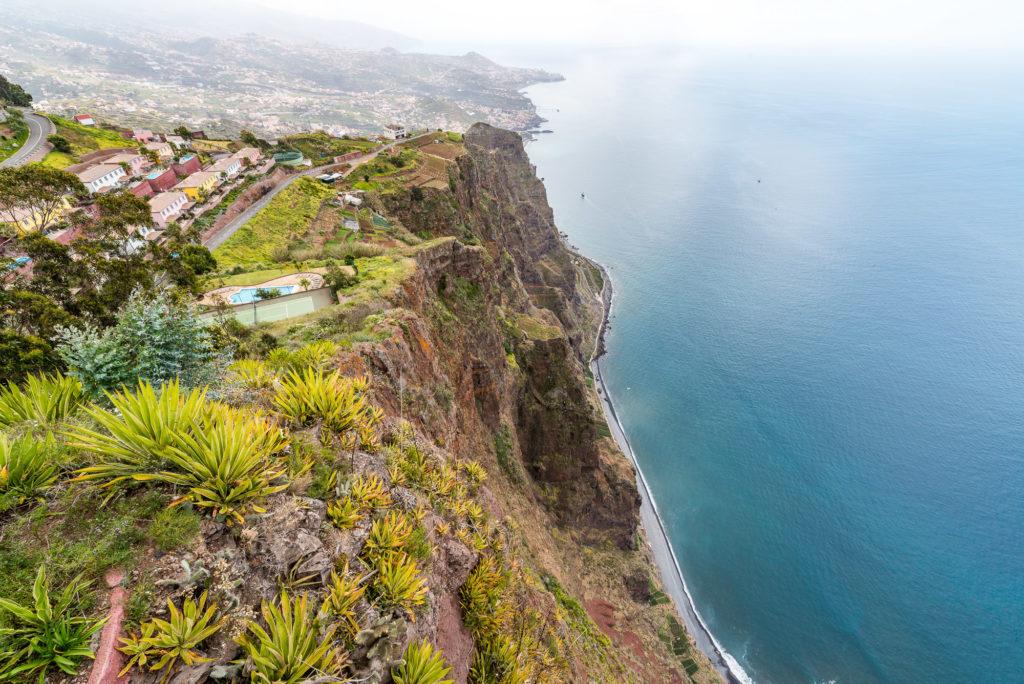 Ausblick Cabo Girão Madeira