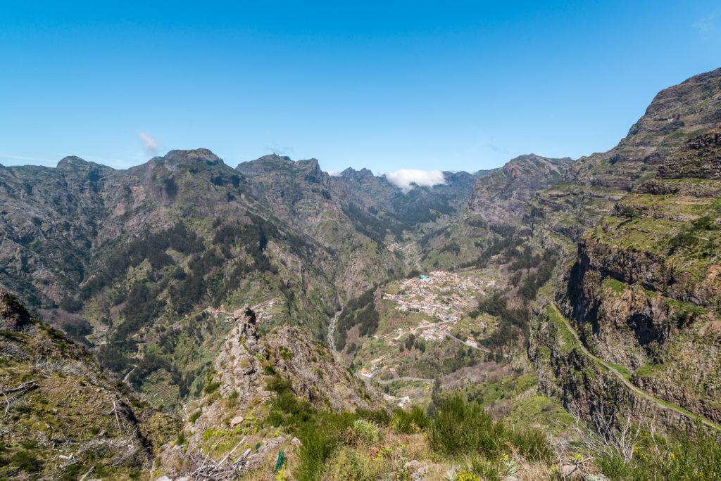 Madeira Blick ins Nonnental