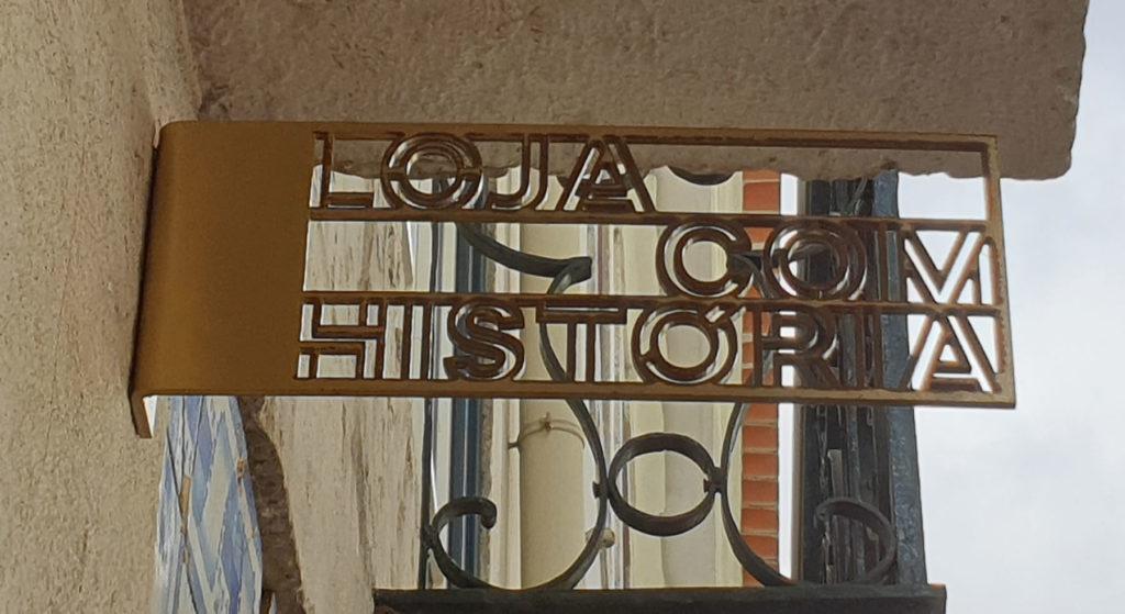 Erkennungsschild Loja historia Lissabon