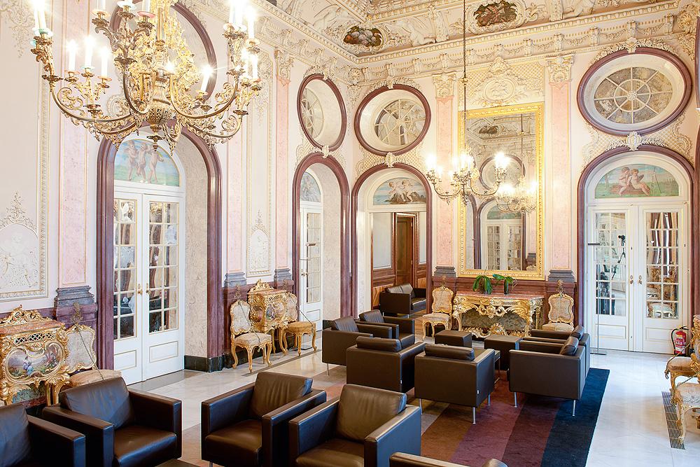Palácio de Estói Salon