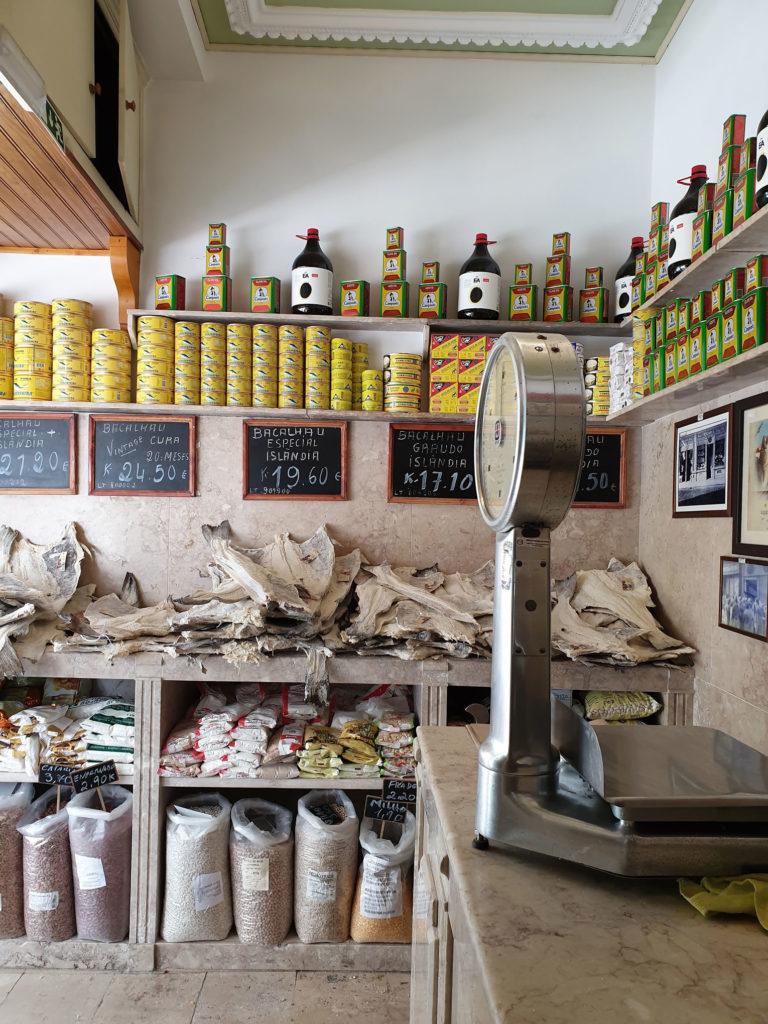 Feinkostladen Bacalhau Lissabon