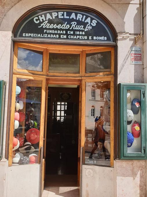 Hutgeschäft Lissabon
