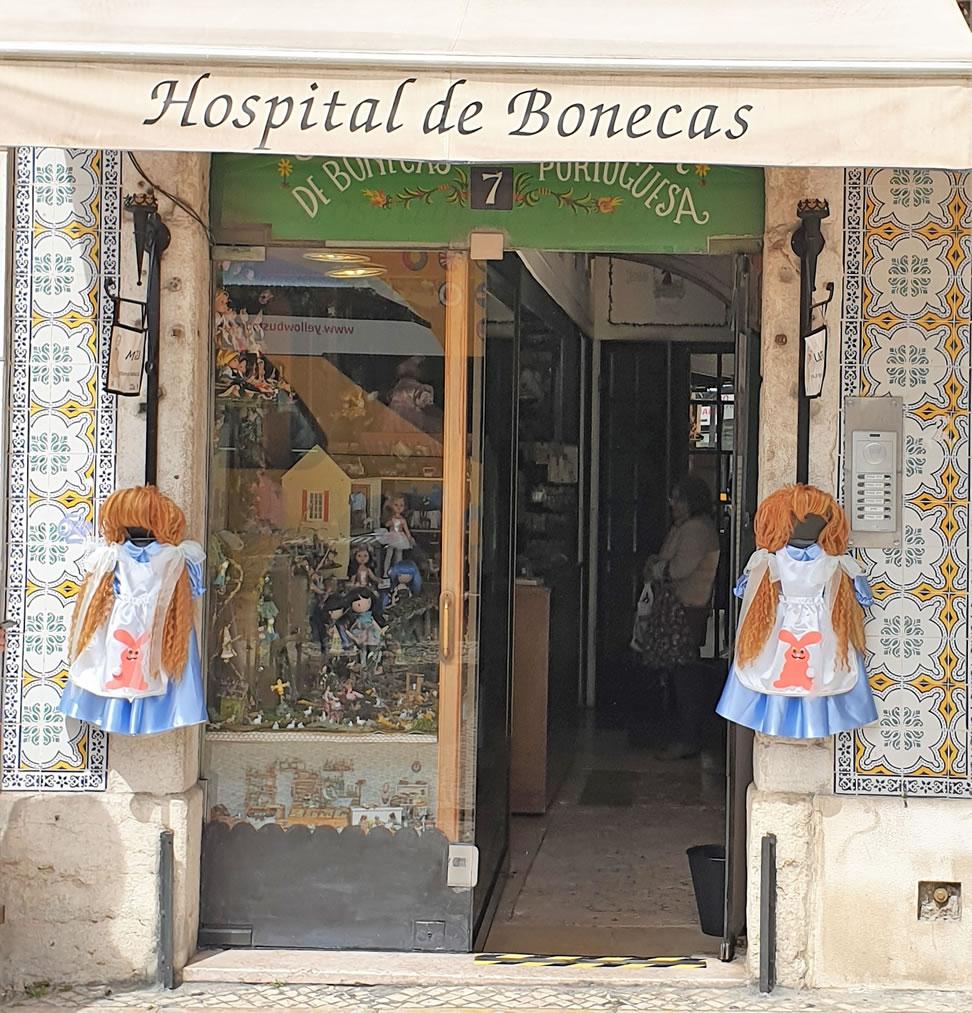 Puppenklinik Außen Lissabon