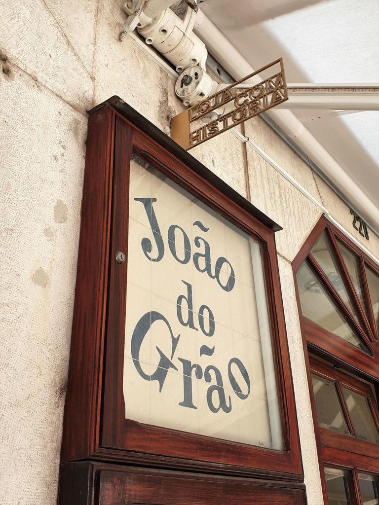 Eingangsschild Joao do Grao Lissabon
