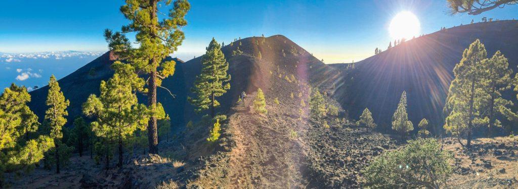 Wanderer Vulkane La Palma