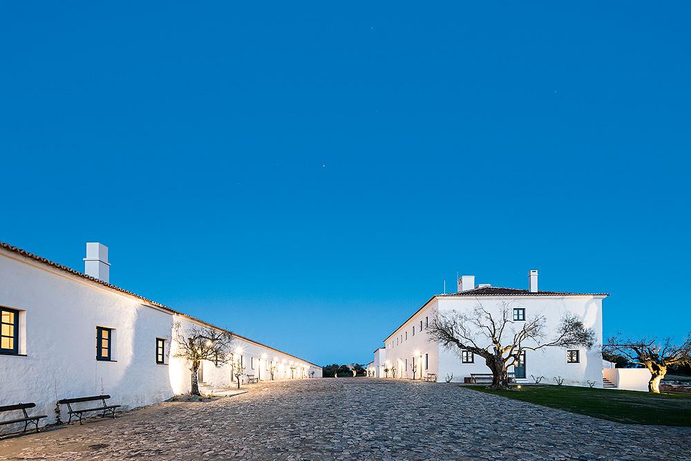 Blick auf das Hotel São Lourenço do Barrocal