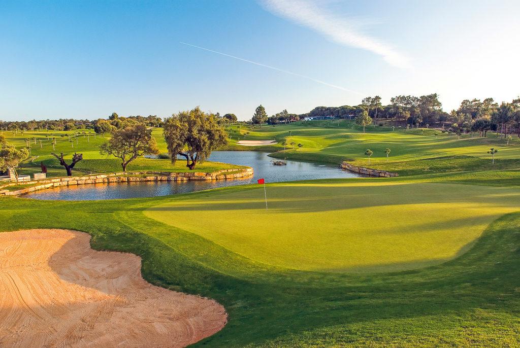Golfplatz Pinheiros Altos Loch 4