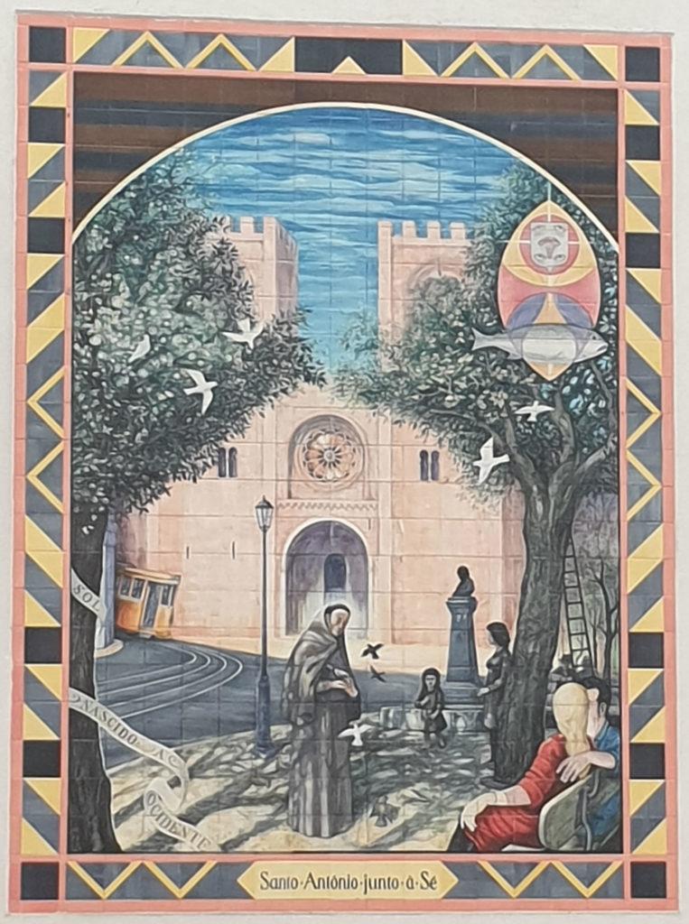 Kacheln Santo Antonio