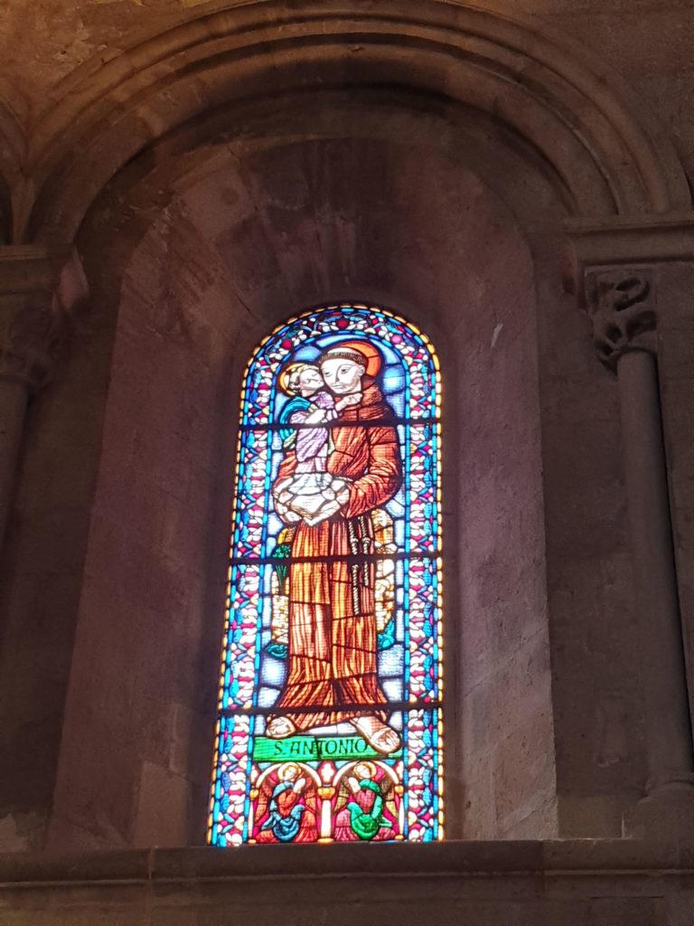 Kirchenfenster Santo Antonio