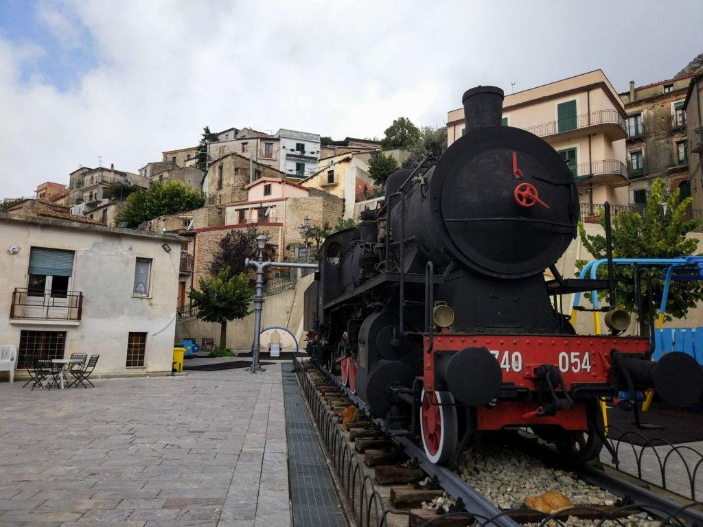 Lokomotive in Bova
