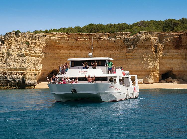 Algarve Bootsausflug mit Ophelia