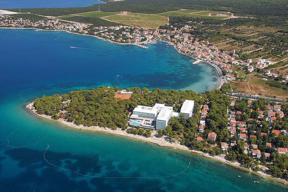 Luftbild Hotel Pinija bei Zadar