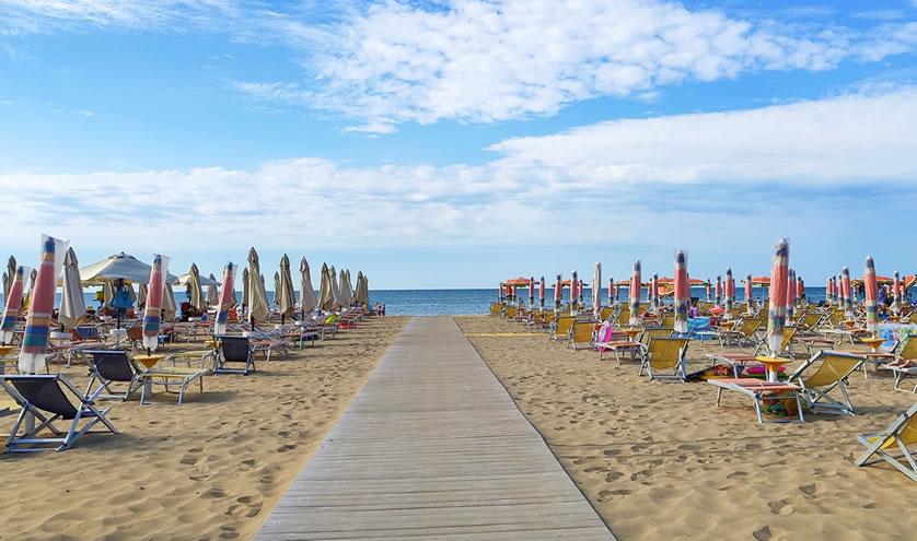 Strand Liegen Bibione