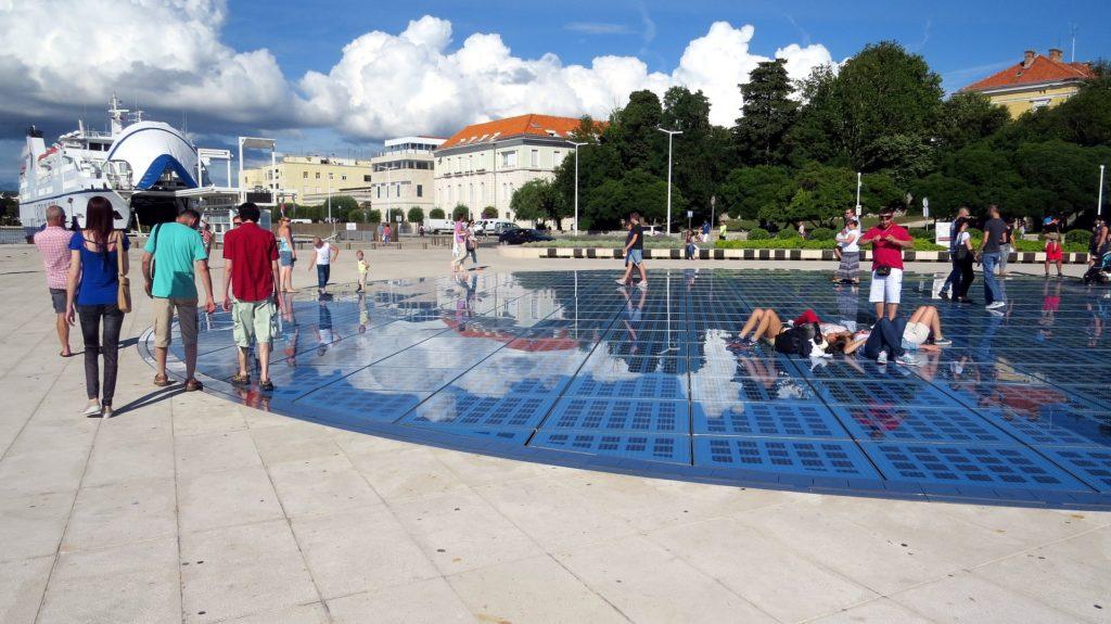 Gruß an die Sonne Zadar