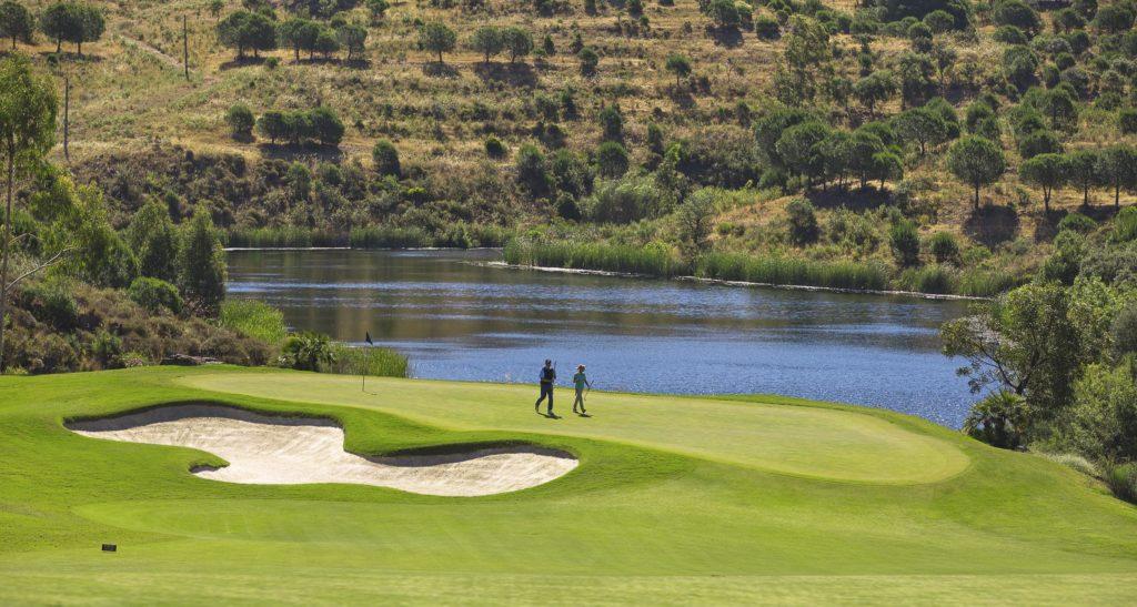 Golfspieler Monte Rei