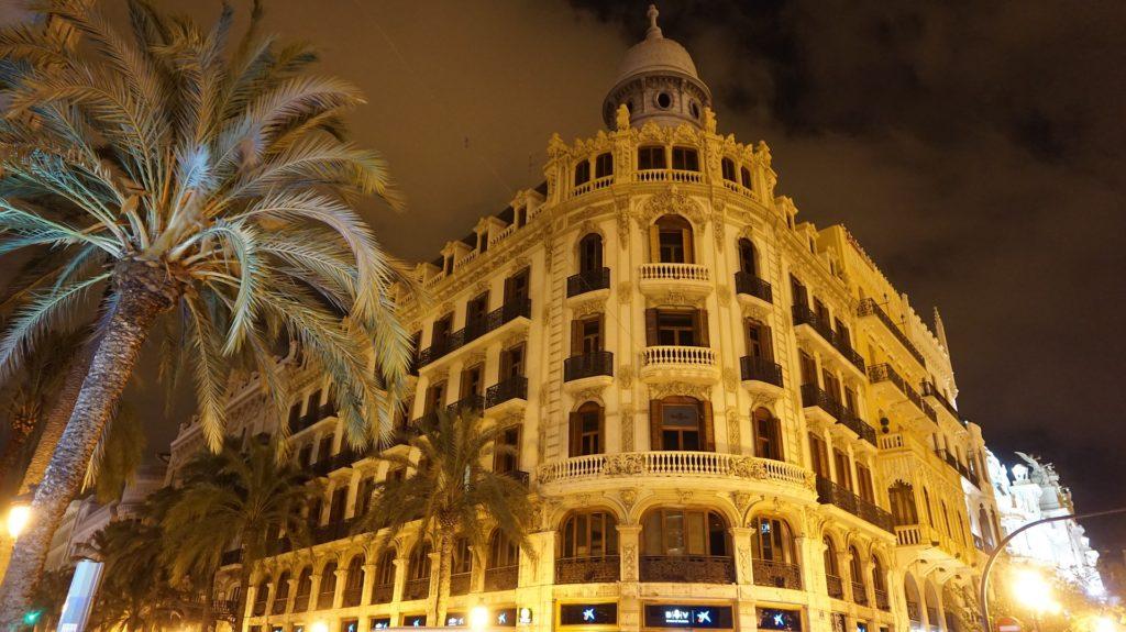 Valencia am Abend