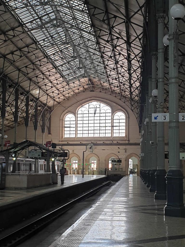 Bahnhof Rossio Lissabon