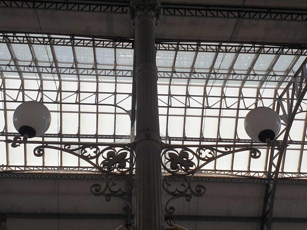 Jugendstil Leuchten Bahnhof Rossio