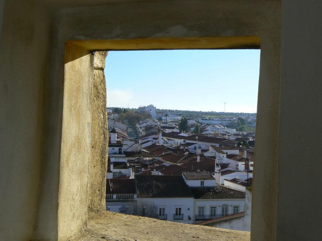 Aussicht von der Burg Moura