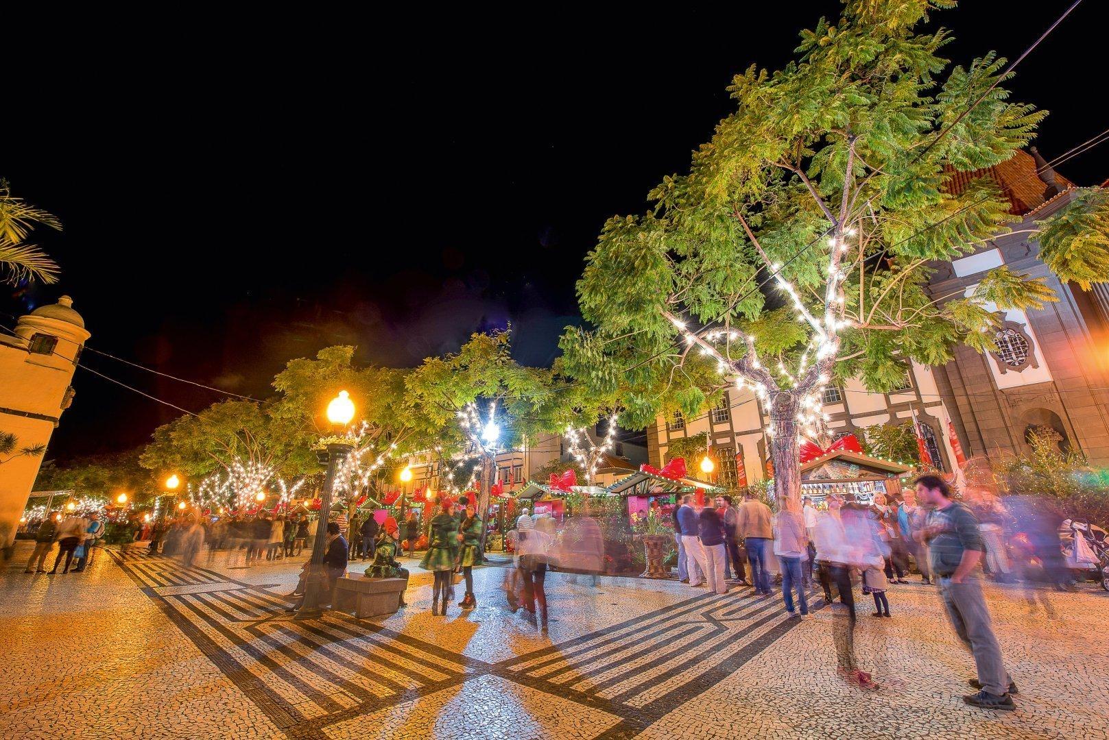 Madeira Funchal Weihnachtszeit