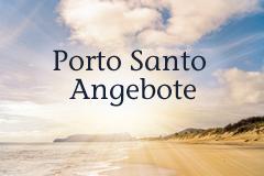 Sonnenuntergang Porto Santo Strand