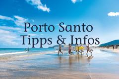 Surfer auf Insel Porto Santo
