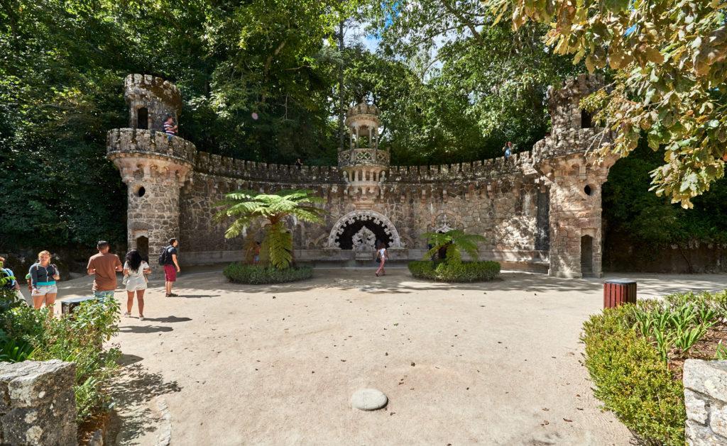Neo-maurischer Brunnen in Sintra