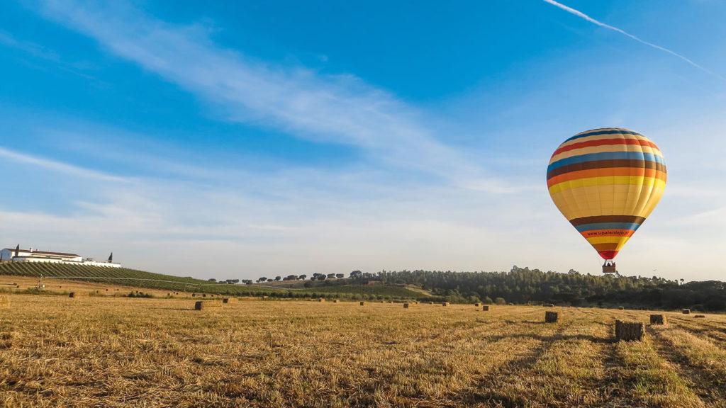 Heißluftballonfahrt in Portugal
