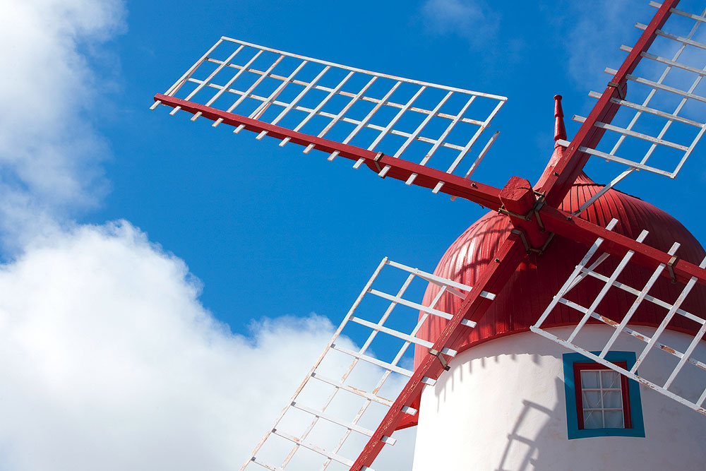 Windmühle auf Graciosa