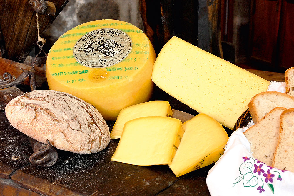 Käse auf São Jorge