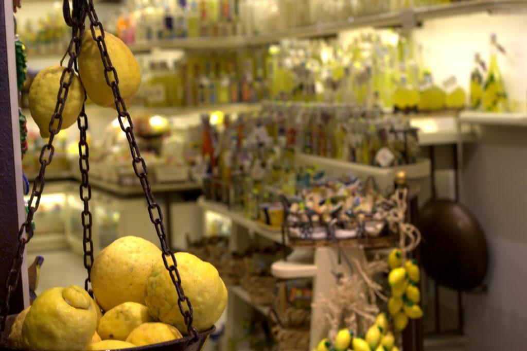 Zitronen und Limoncello