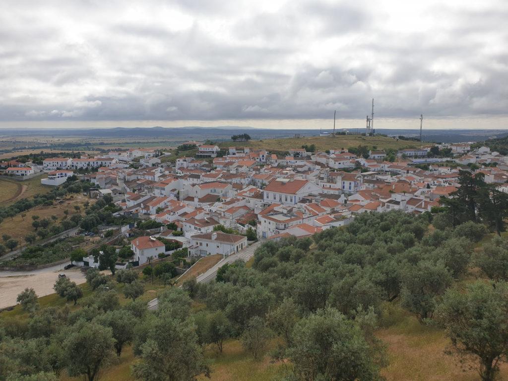 Ausblick auf Arraiolos