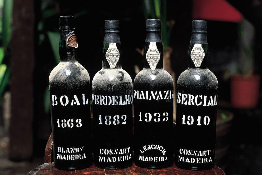 Flaschen Madeirawein