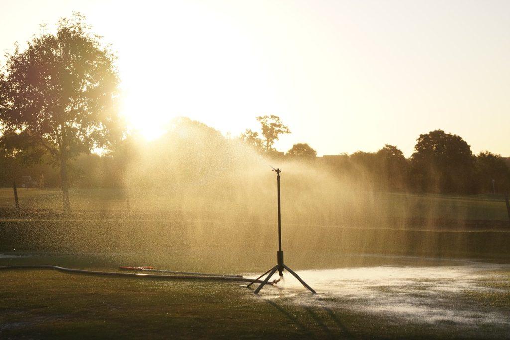 Golfplatz Bewässerung