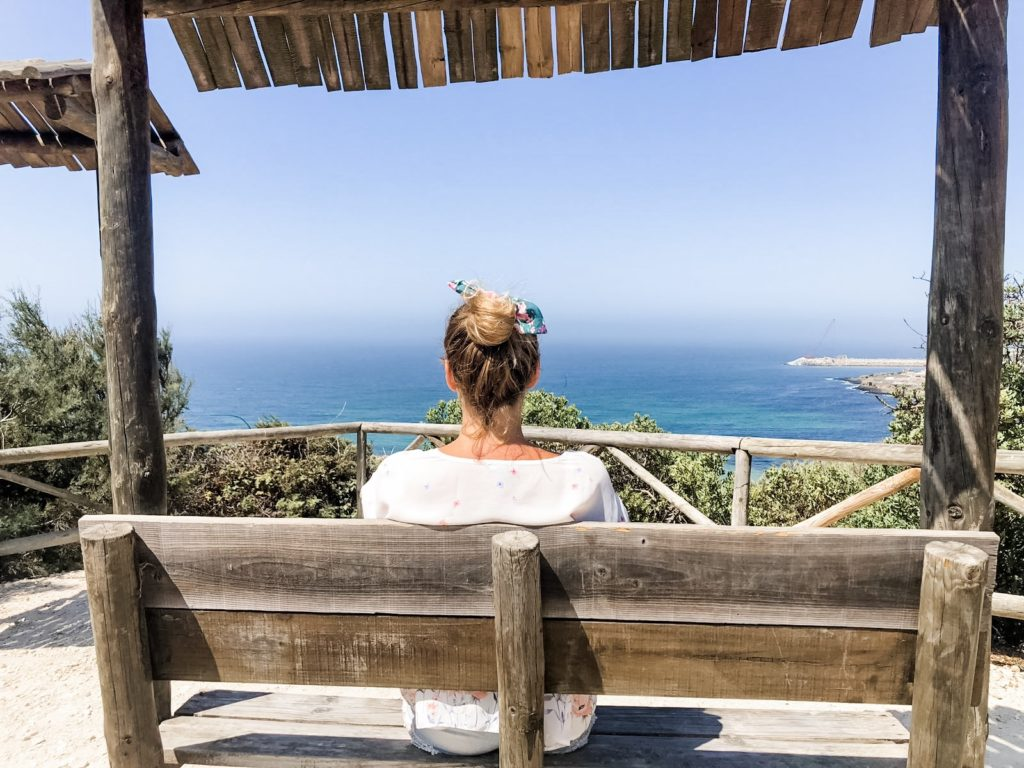 Blick über Praia do Sul