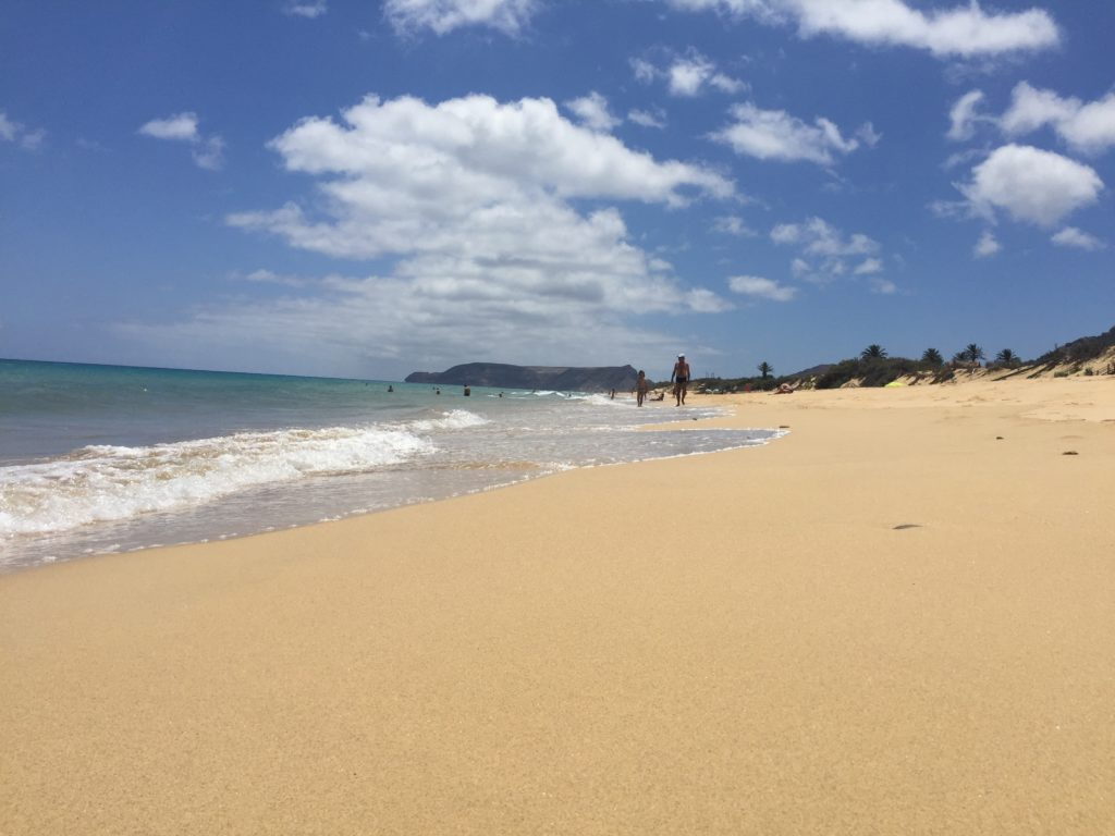 Feinster Sand auf Porto Santo